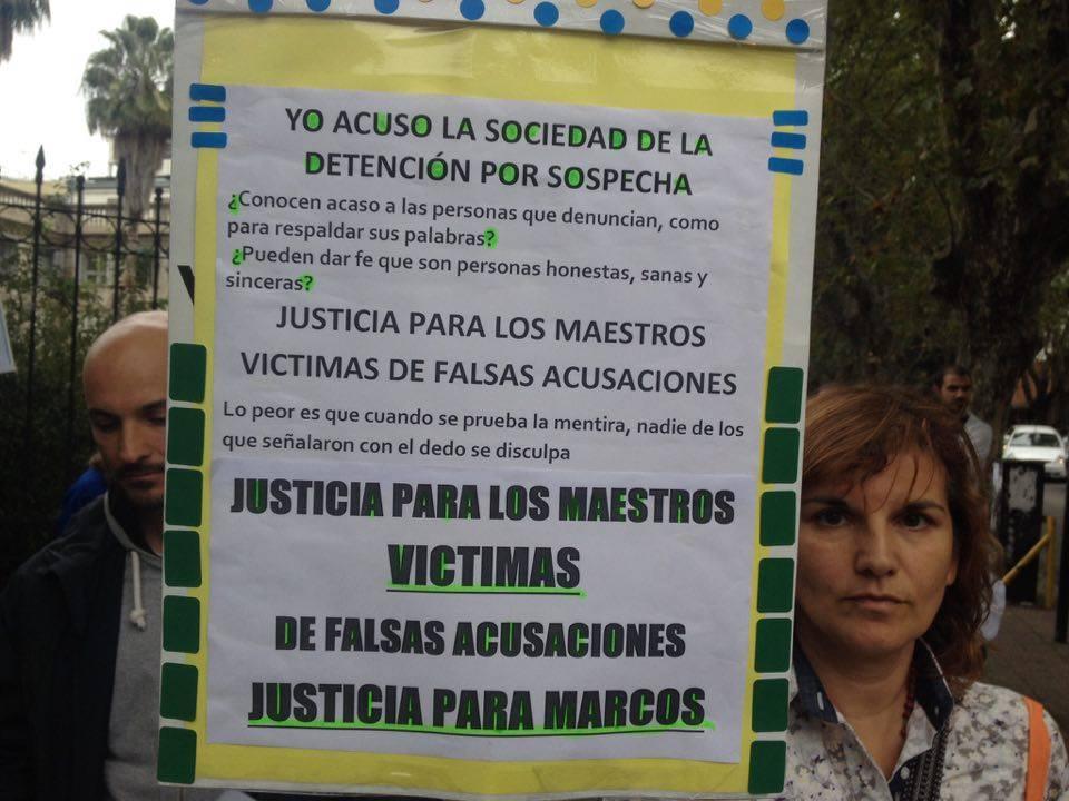 Nuevo clamor de inocencia de familiares y amigos de Marcos Ledesma